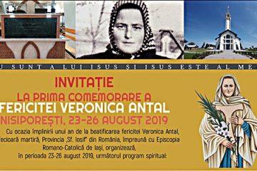 Nisiporeşti: Invitație la prima comemorare a fericitei Veronica Antal – trei zile de pelerinaj