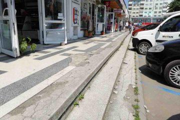 Primăria Roman, în parteneriat cu METEX, va reabilita scările spațiilor comerciale din spatele Casei de Cultură