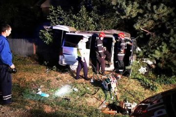 Neamț: accident mortal la Căciulești. Conducătoarea auto a murit la spital