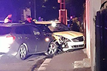 Beat criță la volan, a provocat un accident cu victime în Roman și a fugit de la locul evenimentului rutier
