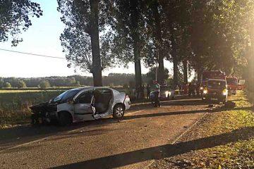 Cum s-a petrecut accidentul de la Sagna în care un tânăr a fost accidentat grav, o mașină distrusă și una avariată