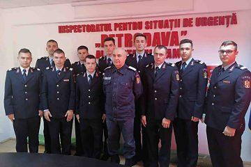 Salvatorii nemțeni au 10 colegi noi. Au fost repartizați la Piatra Neamț, Roman și Târgu Neamț
