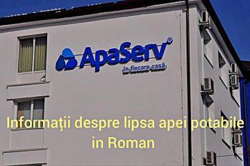 """De ce nu avem apă în Roman? """"Angajații APASERV transferă apa de la puțuri la robinete prin wireless!"""""""