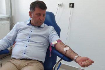 223 de donatori, în august, la Centrul de Transfuzie Sanguină Roman