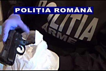 Neamț: percheziții la o persoană bănuită de amenințare și nerespectarea regimului armelor și munițiilor