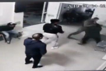 Înregistrarea video: scandalul de la CPU – Spital Roman. Mai multe persoane s-au tăiat cu cuțitele