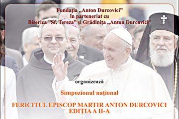 """Roman: Simpozionului național """"Fericitul episcop martir Anton Durcovici"""""""