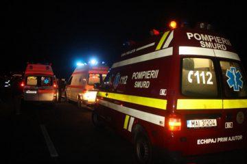 Accident rutier grav, cu patru victime, la Tețcani, pe DN2