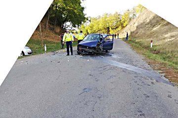 Accident rutier la Trifești: o tânără, din Săbăoani, a fost rănită