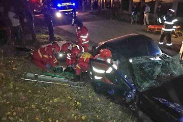 Accident foarte grav la Trifești: tractoristul avea peste 1,40 mg/l alcool pur în aerul expirat