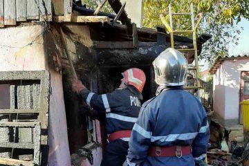 De ultimă oră: incendiu la o locuință din Roman, provocat de o lumânare