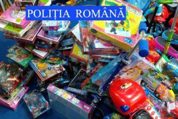 Neamț: acțiune pe linia combaterii contrafacerii de mărfuri – articole confiscate de polițiști