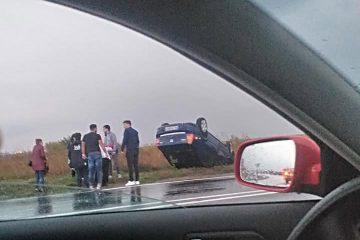 În această seară: accident rutier în zona castelului de apă – DN2/E85