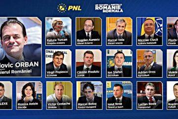 Cine sunt miniștrii propuși de premierul desemnat Ludovic Orban