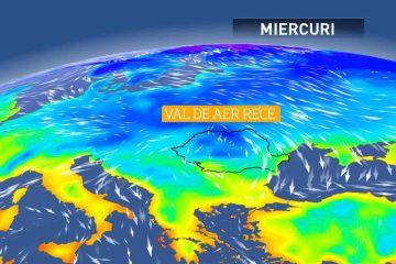 Meteorologii avertizează: se schimbă vremea! Scad temperaturile și vin ninsorile
