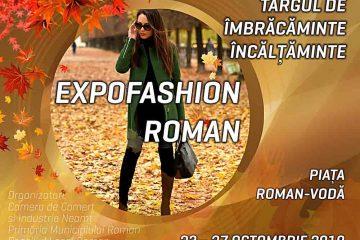 EXPOFASHION Roman – Târgul de Îmbrăcăminte Încălțăminte, ediția de toamnă, în Piața Roman Vodă
