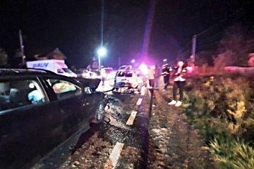 Neamț, în această seară: accident rutier – trei autoturisme implicate