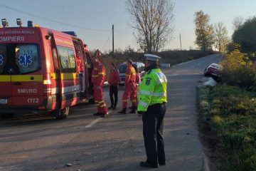 O femeie de 59 de ani și o fetiță de 3 ani, victime într-un accident rutier provocat de un șofer beat mort, la Bahna