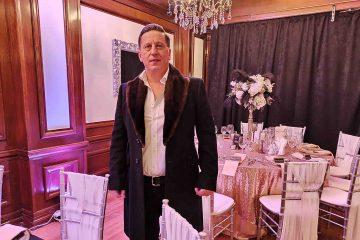 Foto: Omul de afaceri Dan Aizic, proprietarul Hotelului Roman, prezent la inaugurarea Restaurantului Excelsior