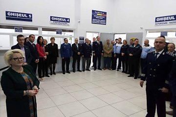 A fost inaugurat noul sediu al Serviciului permise de conducere și înmatriculări Neamț