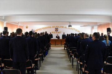 Ședință festivă și avansări în grad la IPJ Neamț