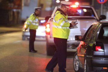 Beți criță, depistați în trafic, la final de săptămână, de polițiștii nemțeni