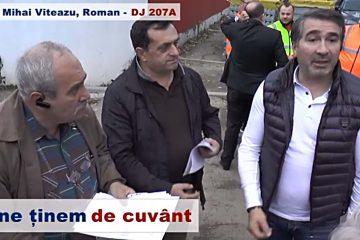 Încep lucrările de asfaltare pe strada Mihai Viteazu, din Roman. Valoarea lucrărilor este de 2 milioane de lei