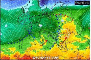 Vin câteva zile de vară – de la 4 grade Celsius trecem brusc la 26 de grade Celsius