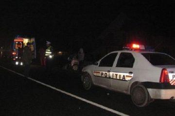 Accident rutier grav, cu două victime, la Săbăoani, pe DN 2/E 85