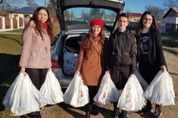 ATOR Roman: 130 de pachete cu dulciuri și fructe, 130 de clipe de bucurie pentru copiii din Căușeni și Slobozia