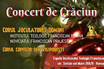 """""""Să-l iubim pe Pruncușorul din Betleem!"""" – Eveniment la Capela Institutului Franciscan din Roman"""