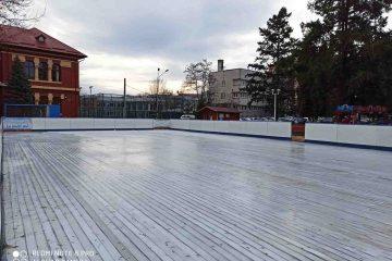 Romașcanii vor putea să patineze, pe patinoarul din Piața Roman Vodă, săptămâna aceasta