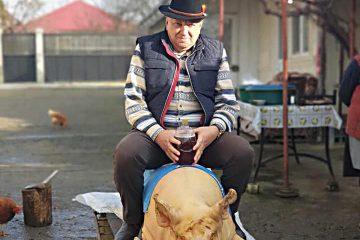 Primarul comunei Bozieni Doinel Grumezescu respectă tradițiile de Crăciun