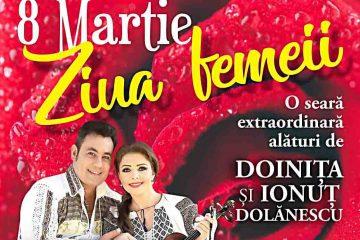 Bradul, Brăduțul și Hanul Mărioarei anunță un program deosebit de Ziua Femeii – concert Doinița și Ionuț Dolănescu