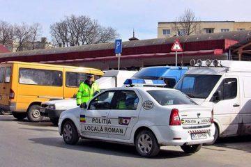 Roman: amenzi pentru prostituție, parcare neregulamentară, oprirea interzisă și aruncare de deșeuri