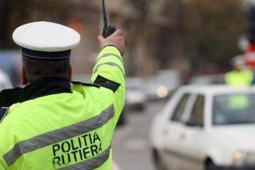 Controale ale polițiștilor rutieri, în Neamț: 61 de vehicule verificate, 21 de sancțiuni, taximetrist găsit băut la volan