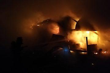 Tragedie, aseară, la Botești: flăcările au distrus o locuință