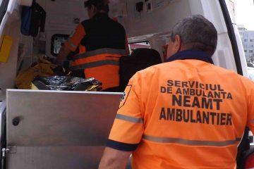 Ambulanța Neamț: intervenții la două accidente rutiere cu victime