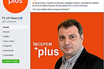 Ionuț Corbu, un candidat în PLUS la Primăria Roman