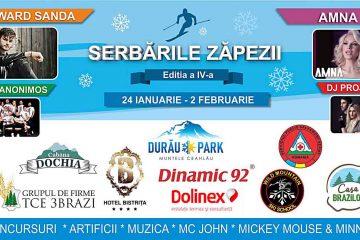 """Video: încep """"Serbările Zăpezii"""", la Durău Park – eveniment dedicat iubitorilor sporturilor de iarnă"""
