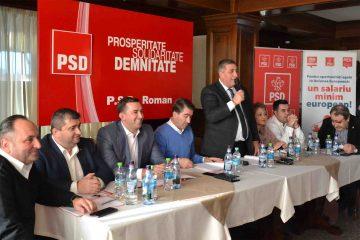 """Dan Manoliu: """"Le mulțumesc colegilor care m-au susținut să conduc în continuare Organizația PSD Roman!"""""""