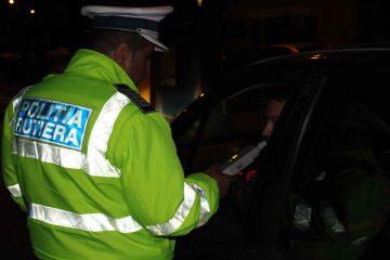 Cu peste 1,20 mg/l alcool pur în aerul expirat, depistat în trafic, prin Bozieni, de polițiștii din Ion Creangă