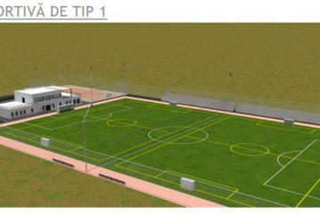 La Roman, va fi construită o bază sportivă – teren de fotbal, pe str. Islazului