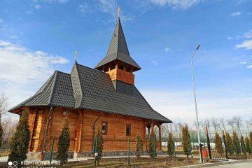 Foto: Noua biserică de la Complexul CONDOR RESORT Dulcești este finalizată după numai trei luni
