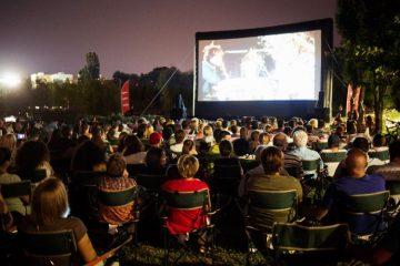 Primul pas pentru realizarea cinematografului în aer liber din Complexul de Agrement Moldova Roman