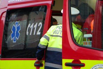Accident rutier, la Văleni: un copil de 5 ani a fost lovit de o mașină