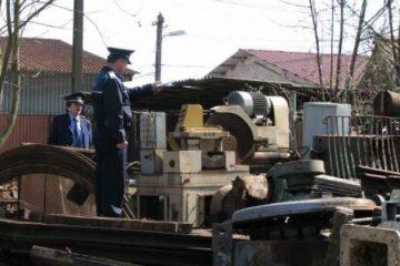 Neamț: polițiștii au confiscat 30 de tone de deșeuri feroase