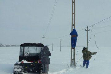 Viscol în Neamț: cinci localități afectate din punct de vedere al alimentării cu energie electrică