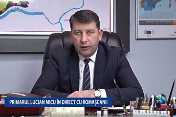 Primarul Lucian Micu, în direct cu romașcanii; vor urma și alte audiențe în direct. Vezi ce probleme s-au ridicat