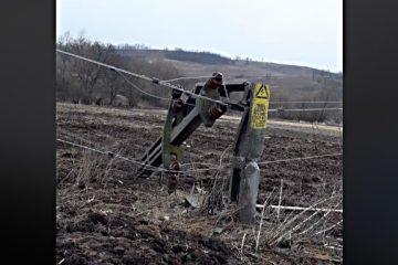 Foto: 18 localități din Neamț nu au energie electrică. Mai mulți copaci s-au prăbușit peste rețele